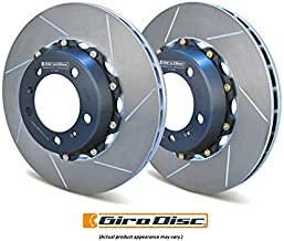Girodisc Front Slotted 2Pc Rotor Set For Mitsubishi Evo X