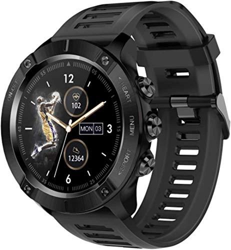 hwbq Deportes al aire libre reloj inteligente hombres s Monitor IP68 impermeable Smartwatch larga vida de la batería Fitness Tracker para Android-B