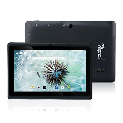 『Dragon Touch Y88X Plus 7インチ タブレットPC クアッドコア Google Android 4.4 KitKat IPS液晶 ディスプレイ メモリ8 GB Bluetooth搭載 日本語対応(ブラック)』の1枚目の画像