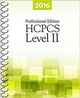 HCPCS 2016 Level II Professional Edition (Hcpcs Level II (American Medical Assn))