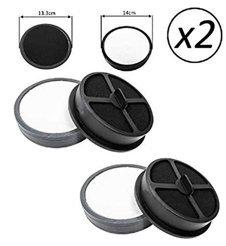 UTP Kit de filtros de Motor 2 x Tipo 70 para aspiradora Vax Zoom U87-ZM-PF
