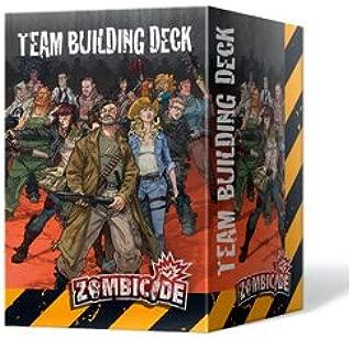 CMON Zombicide Team Building Deck Board Game