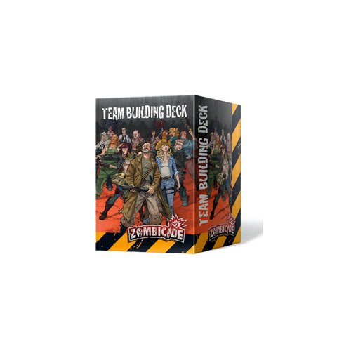 Edge Entertainment - Team Building Deck, expansión para Zombicide (ZG57) , color/modelo surtido