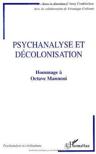 Psychanalyse et décolonisation: Hommage à Octave Mannoni