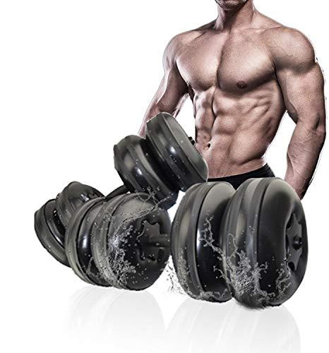 Lacyie Haltères Réglable Musculation pour Homme Femme, 20-26kg...