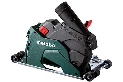Metabo Trenn-Absaugschutzhaube CED 125 Plus (mit Eintauchfunktion, werkzeuglos einstellbare Schnittiefe) 626731000, Schwarz