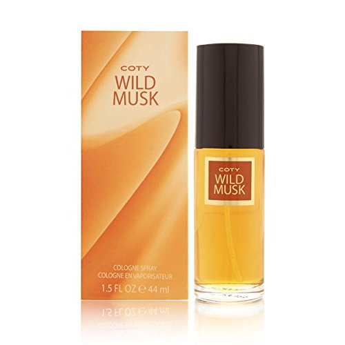 Coty Wild Musk By Coty For Women. Cologne Spray 1.5-Ounces