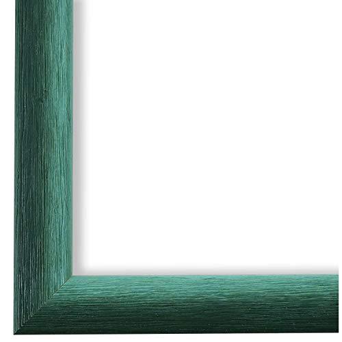 Online Galerie Bingold Bilderrahmen Grün Türkis 30 x 40 cm 30x40 - Modern, Shabby, Vintage - Alle Größen - handgefertigt - WRF - Pinerolo 2,3