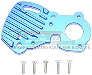 Traxxas E-Revo 2.0 VXL Brushless (86086-4) Upgrade Parts Aluminum Motor Plate With Heat Sink Fins - 1Pc Set Blue