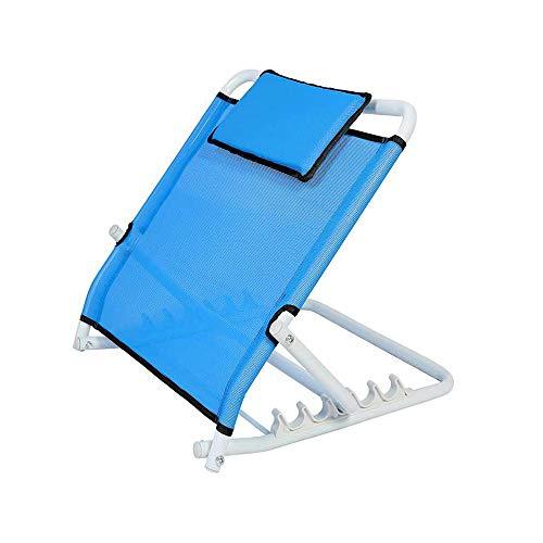 SSZZ Bett-Rückenlehnenhalterung - Klappbarer Bettstuhl, Pflegeprodukte für ältere Patienten, Behinderte usw.