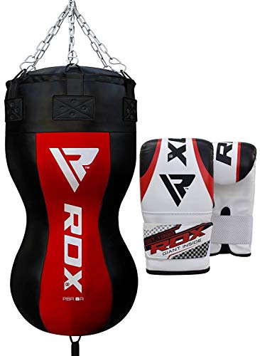 RDX Heavy Boxing Upper Cut Maize Body Punch Bag Filled MMA Training Muay Thai