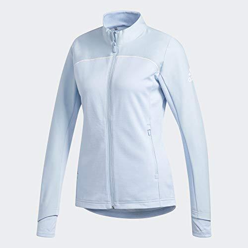 Adidias Icon Jacke I Damen I Golfjacke I Wasserabweisend I Reißverschluss I Stehkragen Blau S