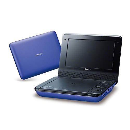 ソニー SONY 7V型 ポータブルDVDプレーヤー 内蔵バッテリー搭載 約4時間連続再生可能 ブルー DVP-FX780 LC