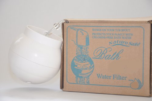 Bath Water CHLORINE Filter, DECHLORINATES AS YOU bathe