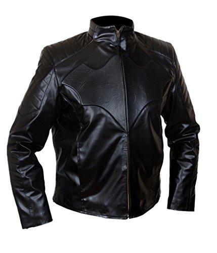 F&H Men's Batman Christian Bale Jacket 2XL Black