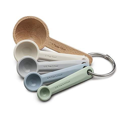Zeal Perfect Measure Messlöffel, Silikon, mehrfarbig, 5 Stück