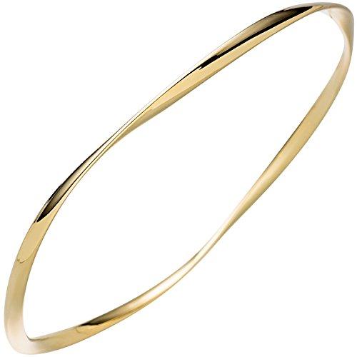 JOBO Damen-Armreif aus 925 Silber vergoldet