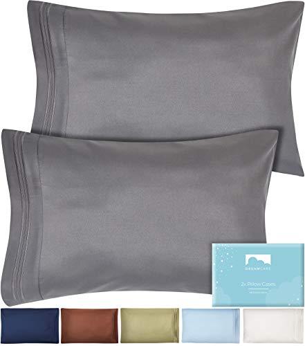 Standard Pillow Cases Standard Size  Microfiber Pillow Cases Queen Size Pillow Cases Queen Size Set Of 2 20x30  Standard Pillowcases Queen Size  Queen Pillow Cases Set Of 2  Gray Pillow Cases