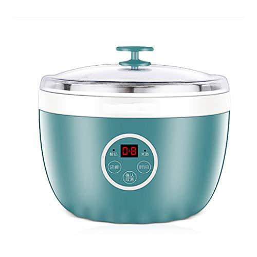SNJDX Máquina de Yogurt de Doble Uso de una máquina, Doble Tanque doméstico, máquina automática de fermentación automática Completa, Temperatura Constante