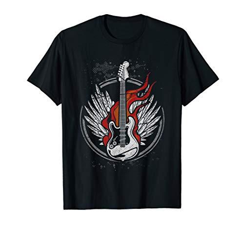 Gitarristen Geschenk Musiker Band Gitarre T-Shirt