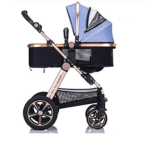 Why Choose Qivor Baby Carriage Baby Stroller Can Sit Horizontal Mini Umbrella Portable Folding 4 Whe...