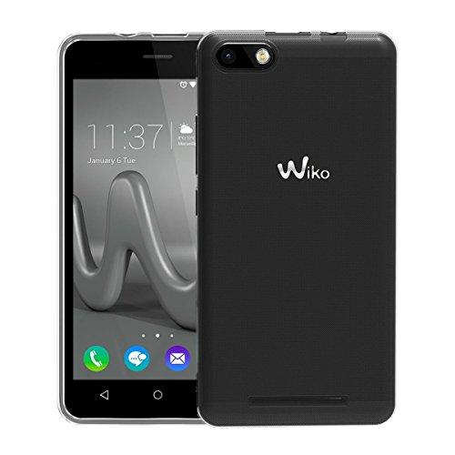 NEW'C Coque pour Wiko Lenny 3, [ Ultra Transparente Silicone en Gel TPU Souple ] Coque de Protection avec Absorption de Choc et Anti-Scratch