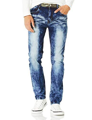 Demon&Hunter 817-serie jeans heren slim fit jeans elastische denim broek DH8117 (31)