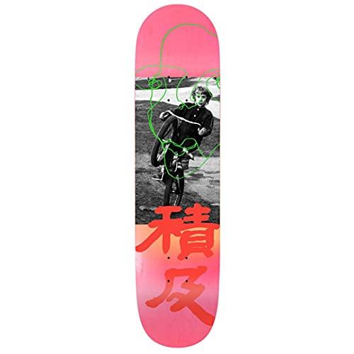 Quasi Skateboards Johnson - Tavola da skateboard senza titolo, 20,6 cm, colore: Rosa