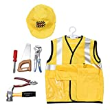 kowaku Children Play Educational Game Toy Set Cosplay Costume - Engineering Clothes