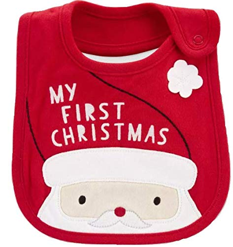Carter's Just One You'My First Christmas' Teething Bib