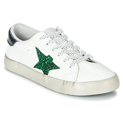Le Temps des Cerises City Sneakers Donne Bianco/Verde - 40 - Sneakers Basse