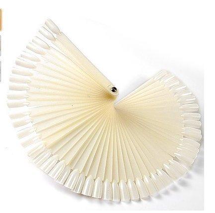 Produktreihe yuhemii mit Drumsticks Präsentation aus Gel für Kunstnägel, mit 50? Kapseln, Farbe?: Elfenbein