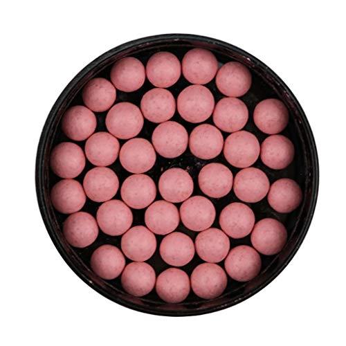 Rouge Palette-Kreative Matte Einfarbige Wasserfeste Blush Rouge Kugel, Hochwirksame Schweißfeste...