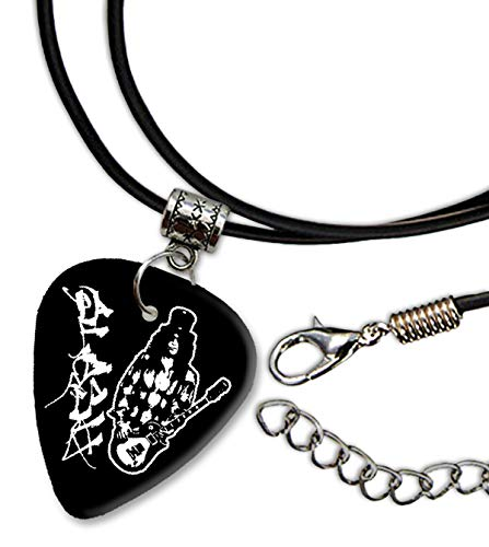 Slash Guns N Roses Design 3 Gitarre Plectrum Cord Halskette Necklace BWEG