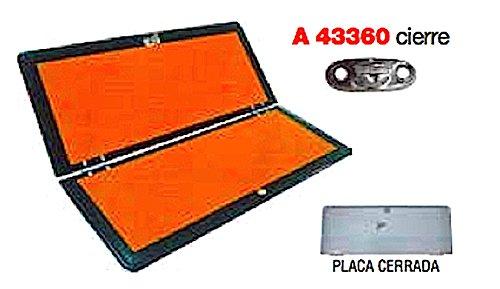 Panel naranja ADR plegable con raya, con cierre incorporado (envío GRATIS)