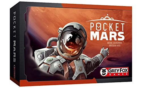 Grey Fox Games Pocket Mars Board Game