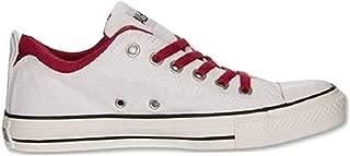 Converse Mens CT Dual Collar Ox White/Jester Skateboarding Shoe 136501F