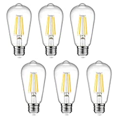 ✔Ascher E26 LED light bulb has 20,000 hours average lifespan. Replace 60W incandescent bulb by 6W LED, save over 90% on electricity bill of lighting. ✔SMOOTH DIMMING CONTROL: Compatible with LED dimmer switches, offering a smooth dimming control with...