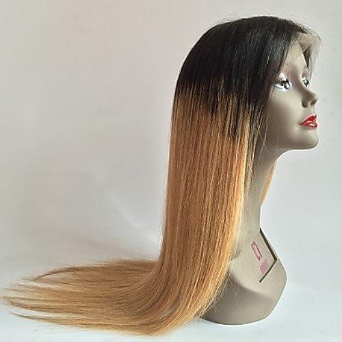 Haute qualit100% perruque humaine vierge humaine et soyeuse perruque avant en dentelle droite perruque avant sans lace