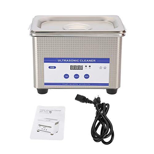 Limpiador sónico, máquina de limpieza de baño ultrasónica resistente a la suciedad, limpiador ultrasónico, limpiador de joyería de alta frecuencia para joyería