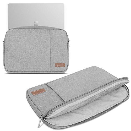 Sleeve Tasche kompatibel für Trekstor Primebook C11 Hülle Schutzhülle Cover Notebook Case, Farbe:Grau (Grey)