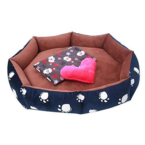 Camas para Perros N B, Felpa Suave para Gatos, sofá Cama, cojín elástico, Nido para Gatos, Cama para Perros, sofá Cama para Dormir para Cachorros