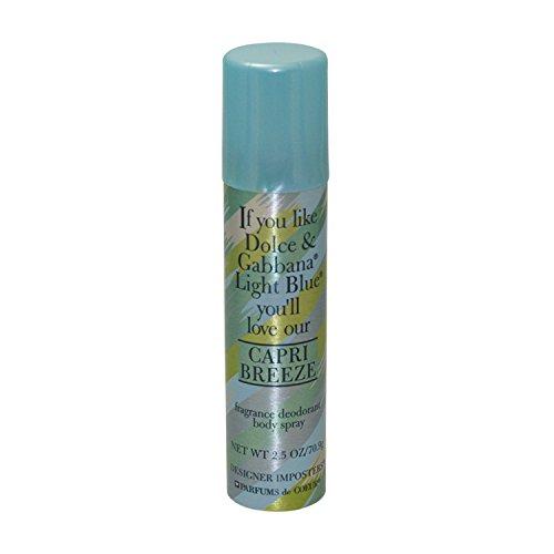 Capri Breeze - Fragrance Deodorant Vaporisateur de Corps 75 Ml/70.9g - pour Femme