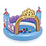 Mr. Fragile Hüpfburgen, Prinzessin Castle der Kinder Aufblasbares Federnd Trampolin mit Ocean Ball...