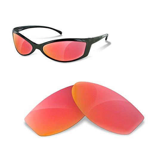sunglasses restorer Para Arnette Swinger 250 (Cristales Polarizados de Color Ruby Red)
