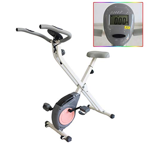 Sale!! Exercise Bikes Fitness Equipment Foldable Exercise Bicycle Men Women Magnetic Control Load Be...