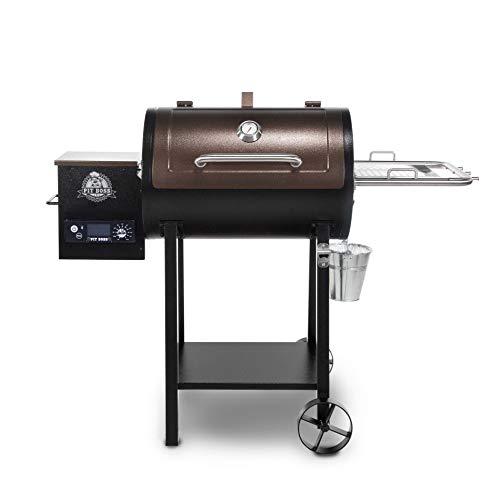 PIT BOSS PB440D2 Wood Pellet Grill, Mahogany