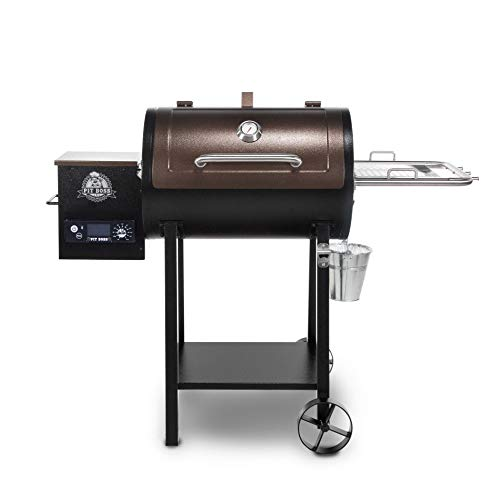 PIT BOSS 440 Deluxe Wood Pellet Grill for Indoor Smoking Food