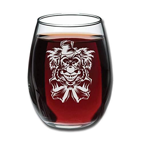 Bannanabut Clown-Weinglas, ohne Stiel, wiederverwendbar, unzerbrechlich, einfach, modern, Weinglas, Picknick, Trinkgläser, Geburtstagsgeschenk, für beste Freundin, weiß, 350 ml
