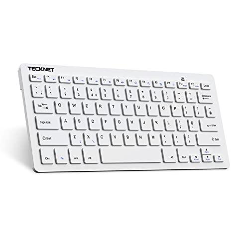 TECKNET 2.4G Wireless Keyboard Compatible With Windows 10/8 / 7 / Vista/XP...